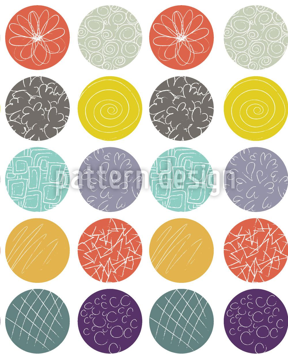 Pattern Wallpaper Dot Mixture