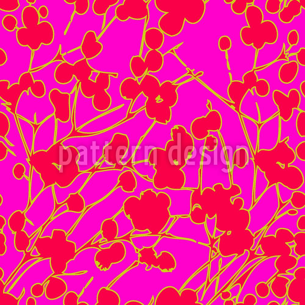 Pattern Wallpaper Berries