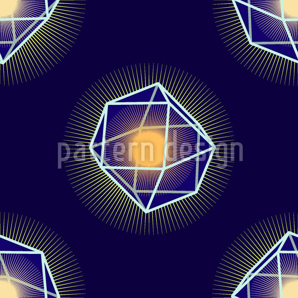 Pattern Wallpaper Polygons Shine