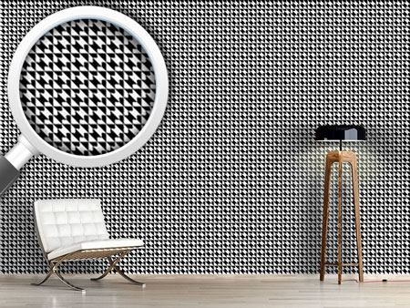 Papier peint design Houndstooth Geometry