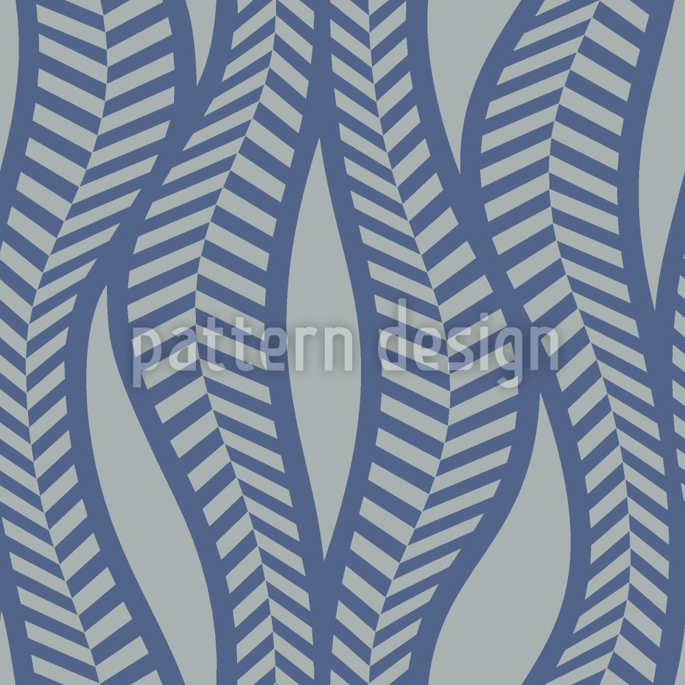 Carta da parati Herringbone Thicket