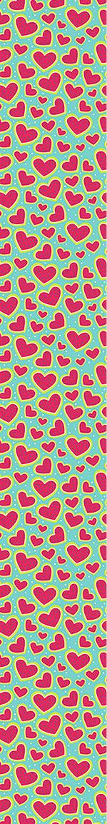 Papier peint design I Am So Wild About Your Strawberry Heart