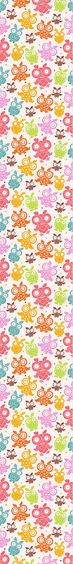 Pattern Wallpaper Owls Attempt To Fly