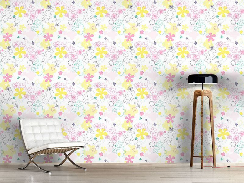 Papier peint design Dream Flower Garden