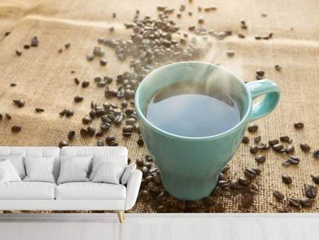 Photo Wallpaper Hot coffee