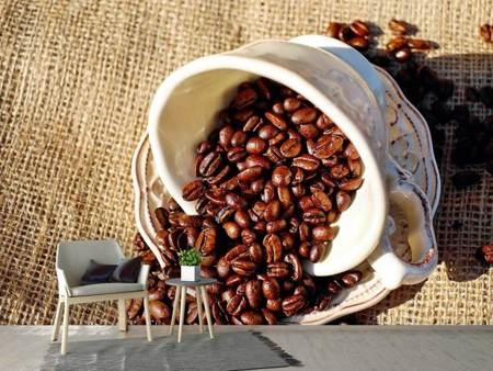 Photo Wallpaper Coffee beans in the cup