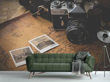 Photo Wallpaper Retro journey