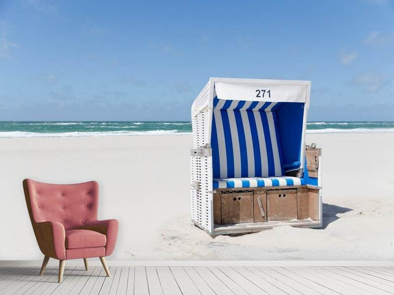Papier peint photo Chaise de plage 271