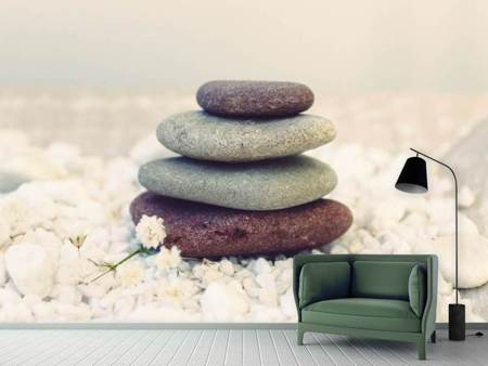 Photo Wallpaper Stone balance