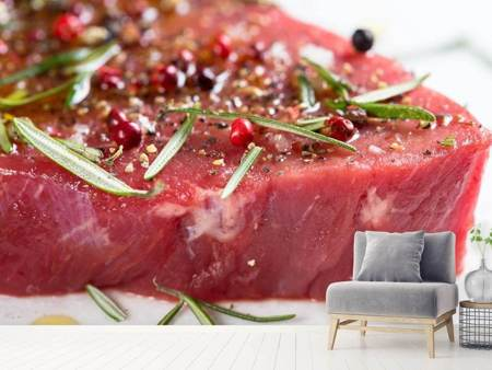 Photo Wallpaper Raw meat