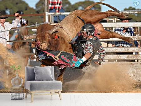 Photo Wallpaper Bull Ride