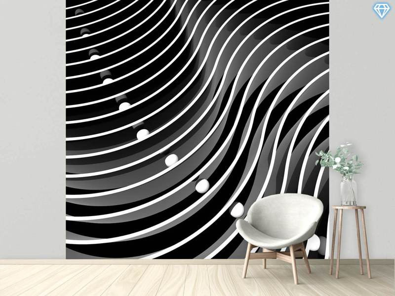 Photo Wallpaper Curve And Ball Path