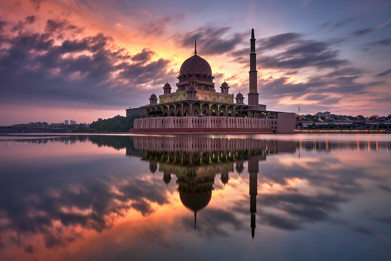 photo wallpaper masjid putrajaya big01