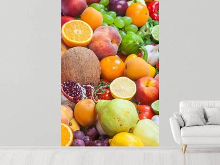 Photo Wallpaper Fresh Fruits