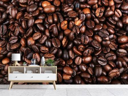 Photo Wallpaper Coffee Beans In XXL