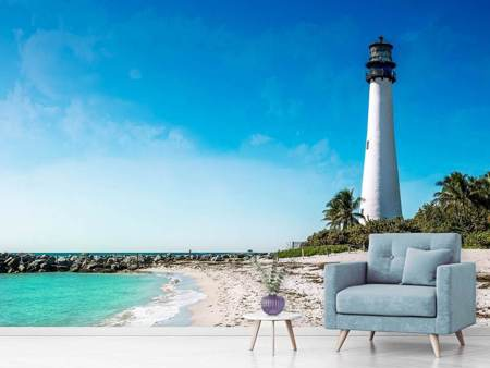 Photo Wallpaper Cape Florida Ligthhouse