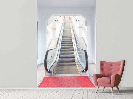 Photo Wallpaper Escalator